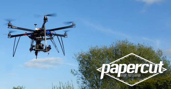 Papercut Media: Aerial Filming at the Solar House